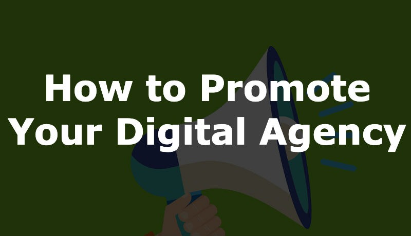 Promotional strategies for marketing agencies