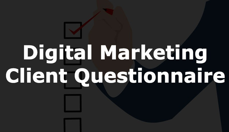 Questions for digital marketing prospects