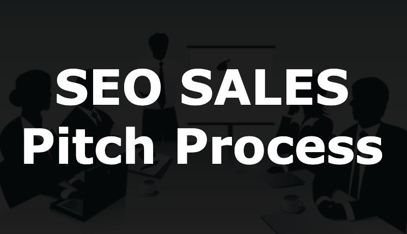 The process of selling SEO Services