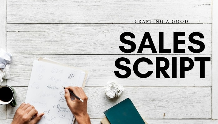 Example Template of a Sales Script